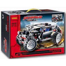 Decool 3340 (NOT Lego Technic 8081 Extreme Cruiser ) Xếp hình Ô Tô Hummer Suv (Mẫu 1) 590 khối
