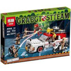LEPIN 16032 Xếp hình kiểu Lego GHOSTBUSTERS Super Dare To Die Catching A Ghost Car ECTO-1 & 2 Ô Tô Của Biệt đội Săn Bắt Ma 556 khối