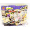 Bela 10211 (NOT Lego Teenage Mutant Ninja Turtles TMNT 79104 The Shellraiser Street Chase ) Xếp hình Truy Đuổi Trên Phố 627 khối