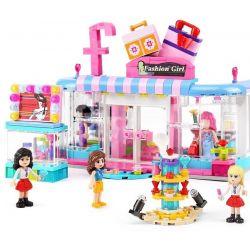 XINGBAO XB-12010 12010 XB12010 Xếp hình kiểu Lego CITY GIRL CityGirl Beauty Boutique Campus Girl Fashion Clothing Store Cửa Hàng Thời Trang Của Các Cô Gái Campus 453 khối