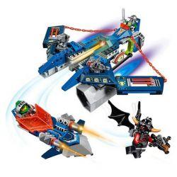 Decool 8016 Jisi 8016 Xếp hình kiểu Lego NEXO KNIGHTS ISI Chiến trường 586 khối