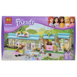 NOT Lego FRIENDS 3188 Heartlake Vet Heart Lake Pet Hospital , Bela 10169 Lari 10169 Xếp hình Bệnh Viện Thú Y Hồ Trái Tim 343 khối