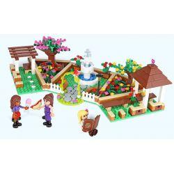XINGBAO XB-12004 12004 XB12004 Xếp hình kiểu Lego CityGirl Flower Corner City Girl Campus Corner Thành Phố Cô Gái 554 khối