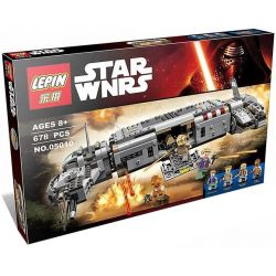 Bela 10577 Lari 10577 LEPIN 05010 Xếp hình kiểu Lego STAR WARS Resistance Troop Transporter Resistance To The Army Cavalry Transporter Tàu Vận Chuyển Của Quân Kháng Chiến 646 khối
