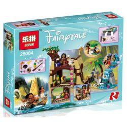 Bela 10662 Lari 10662 LEPIN 25004 SHENG YUAN SY SY855 Xếp hình kiểu Lego DISNEY PRINCESS Moana's Island Adventure Moya's Island Adventure Moana Thám Hiểm Đảo Hoang 205 khối