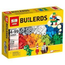 LEPIN 42004 Xếp hình kiểu Lego CLASSIC Creative Supplement Sáng Tạo Hộp Gỗ 303 khối