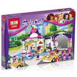 Bela 10759 Lepin 01051 (NOT Lego Friends 41320 Heartlake Frozen Yogurt Shop ) Xếp hình Cửa Hàng Sữa Chua 414 khối