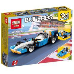 Lepin 24039 Decool 3127 (NOT Lego Creator 31072 Extreme Engines ) Xếp hình Những Cỗ Máy Tốc Độ Cao 122 khối