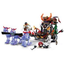 SEMBO SD3301 3301 Xếp hình kiểu Lego CHRONICLES OF THE GHOSTLY TRIBE Ghost Horse Carriage Cỗ Xe Ngựa Ma Quái 269 khối