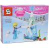 Sheng Yuan 790 SY790 (NOT Lego Disney Princess Figs With Mini Builds ) Xếp hình Thiết Kế Trang Phục Công Chúa 256 khối
