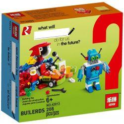 LEPIN 42013 Xếp hình kiểu Lego CLASSIC BUILDING BIGGER Thinking Classic Fun Future Tương Lai Vui Nhộn 186 khối