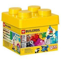 LELE 39080 LEPIN 42003 SHENG YUAN SY SY962 Xếp hình kiểu Lego CLASSIC Creative Bricks Lego Classic Creative Small Box Khối Sáng Tạo 221 khối