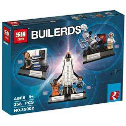 LEPIN 35002 Xếp hình kiểu Lego IDEAS Women Of NASA Female Scientist Of Nasa Nữ Phi Hành Gia 231 khối