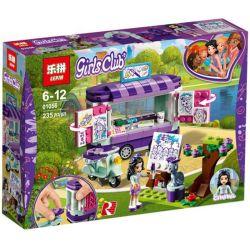 Lepin 01056 Sheng Yuan 1029 SY1029 Bela 10852 (NOT Lego Friends 41332 Emma's Art Stand ) Xếp hình Gian Hàng Nghệ Thuật Của Emma 235 khối