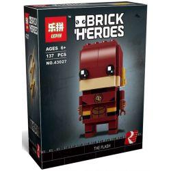 Decool 6840 Jisi 6840 LEPIN 43027 Xếp hình kiểu Lego BRICKHEADZ The Flash Fangtai Lightning Cần Dịch 122 khối