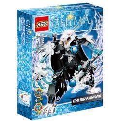 XSZ KSZ 816-2 ZIMO 70212A Xếp hình kiểu Lego LEGENDS OF CHIMA CHI Sir Fangar Legend Of Qigong Qigong Sword Tiger Ngài Fangar Tối Thượng 97 khối