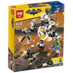 Bela 10879 Lari 10879 LEPIN 07096 SHENG YUAN SY 1011 Xếp hình kiểu THE LEGO BATMAN MOVIE Egghead Mech Food Fight Egg Human Bar Robot Khổng Lồ Của Egghead 293 khối