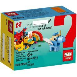 LEPIN 41012 42012 Xếp hình kiểu Lego CLASSIC Rainbow Fun Building Bigger Thinking Classic Fun Rainbow Cầu Vồng Vui Vẻ 85 khối