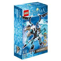 XSZ KSZ 815-5 (NOT Lego Legends of Chima 70210 Chi Vardy ) Xếp hình Thủ Lĩnh Bộ Lạc Kền Kền 74 khối