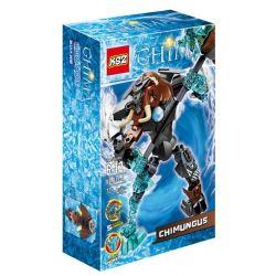 XSZ KSZ 815-4 Xếp hình kiểu Lego LEGENDS OF CHIMA CHI Mungus Legend Of Qigong Qigong Is Blunt Chiến Binh Băng Mungus 64 khối