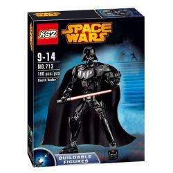 XSZ KSZ 713 Decool 9015 (NOT Lego Star wars 75111 Darth Vader ) Xếp hình Người Máy Tàn Nhẫn Darth Vader 160 khối
