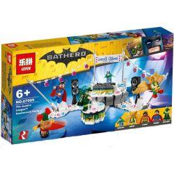 Bela 10878 Lari 10878 LEPIN 07095 Xếp hình kiểu THE LEGO BATMAN MOVIE The Justice League Anniversary Party Justice Alliance Anniversary Bữa Tiệc Kỷ Niệm Liên Minh Công Lý 267 khối