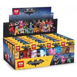 LEPIN 03094 Xếp hình kiểu Lego COLLECTABLE MINIFIGURES Lobster-Lovin' Batman Pick Up Batman Big Movie People 20 Các Nhân Vật Anh Hùng Trong Batman 125 khối