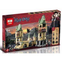 LEPIN 16028 Xếp hình kiểu Lego HARRY POTTER Hogwarts Harry Potter Death Sentence Hogwartz Defense War Trường Học Hogwarts 466 khối