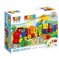 Jun Da Long Toys Jdlt 5308A (NOT Lego Duplo Digital Train (Large) ) Xếp hình Chú Tàu Hỏa Dạy Đếm (Cỡ Lớn) 65 khối
