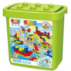 Jun Da Long Toys Jdlt 5321A (NOT Lego Duplo Means Of Transport ) Xếp hình Thế Giới Các Phương Tiện 150 khối