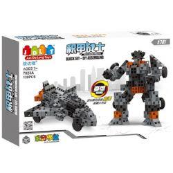 Jun Da Long Toys Jdlt 7023A (NOT Lego Special Armored Warrior - Phantom ) Xếp hình Chiến Binh Bọc Thép - Hắc Ám 129 khối