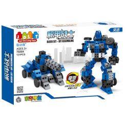Jun Da Long Toys Jdlt 7026A (NOT Lego Special Armor Warrior - Assault ) Xếp hình Chiến Binh Bọc Thép - Bạo Lực 131 khối