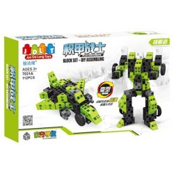Jun Da Long Toys Jdlt 7031A (NOT Lego Special Armored Warrior - Pilot ) Xếp hình Chiến Binh Bọc Thép - Phi Công 112 khối