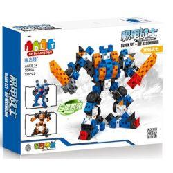 Jun Da Long Toys Jdlt 7043A (NOT Lego Armor Warrior - Shadow Warrior ) Xếp hình Chiến Binh Bọc Thép - Hiệp Sĩ Bóng Tối 226 khối