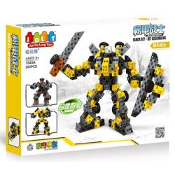 Jun Da Long Toys Jdlt 7045A Nanoblock Armor Warrior - Arrow Warrior Xếp hình Chiến Binh Bọc Thép - Hiệp Sĩ Mũi Tên 263 khối