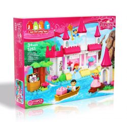 Jun Da Long Toys JDLT 5255A Xếp hình kiểu LEGO Duplo Sofia Princess And Her Friends Công Chúa Sofia Và Những Người Bạn 136 khối