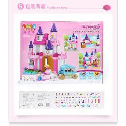 JUN DA LONG TOYS JDLT 5256A Xếp hình kiểu Lego Duplo DUPLO Sofia Princess With Her Friends In Glorious Castle Lâu Đài Mơ Ước 189 khối