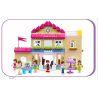 Jdlt Judalongtoys 5233A (NOT Lego Duplo Girls' School ) Xếp hình Trường Học Điệu Đà 193 khối