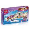 Lepin 01037 Lele 37039 Bela 10758 Decool 80218 (NOT Lego Friends 41316 Andrea's Speedboat Transporter ) Xếp hình Xe Chở Du Thuyền Của Andrea 330 khối