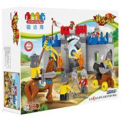 JUN DA LONG TOYS JDLT 5261A Xếp hình kiểu Lego Duplo DUPLO Battlefield Of Eagle King Cuộc Chiến Của Vua Chim Ưng 78 khối