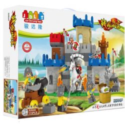JUN DA LONG TOYS JDLT 5262A Xếp hình kiểu Lego Duplo DUPLO Confrontation Between Two Army Forces Cuộc Đối Đầu Máu Lửa 115 khối