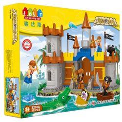JUN DA LONG TOYS JDLT 5270A Xếp hình kiểu Lego Duplo DUPLO Siege Of Pirate Cuộc Vây Hãm Của Cướp Biển 103 khối