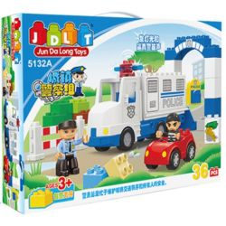 Jun Da Long Toys Jdlt 5132A (NOT Lego Duplo Robber Catched ) Xếp hình Bắt Được Tên Cướp 36 khối