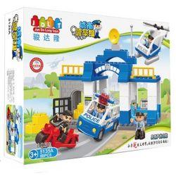 Jun Da Long Toys Jdlt 5135A (NOT Lego Duplo Hunting Suspect ) Xếp hình Theo Đuổi Nghi Phạm 68 khối