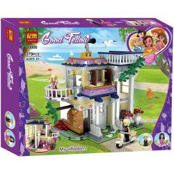 Jemlou 20006 Xếp hình kiểu Lego GOOD FELLOW Good Fellow My Villadom Good Accompany Căn Biệt Thự Thơ Mộng Của Tiểu Thư 379 khối