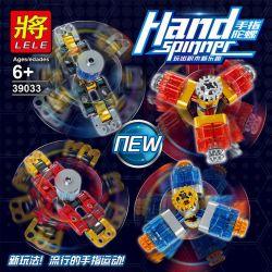 LELE 39033 Xếp hình kiểu Lego TECHNIC Hand Spinner Finger Gyro 4 Con Quay Hand Spinner