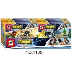Sheng Yuan 1185 SY1185 (NOT Lego Fornite Fortnite ) Xếp hình Các Phương Tiện Quân Sự Trong Game Fortnite gồm 4 hộp nhỏ 334 khối