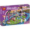 Lepin 01008 Bela 10563 Sheng Yuan 820 SY820 Decool 80219 Lele 37011 (NOT Lego Friends 41130 Amusement Park Roller Coaster ) Xếp hình Tàu Lượn Đu Quay Tròn Đứng Đu Quay Thả 1124 khối