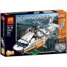 Lepin 20002 Lele 38008 King 90002 (NOT Lego Technic 42052 Heavy Lift Helicopter ) Xếp hình Trực Thăng Vận Tải Hạng Nặng Động Cơ Pin 1060 khối