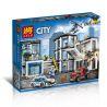 Lepin 02020 Lele 39058 Bela 10660 Lezi 94001 (NOT Lego City 60141 Police Station ) Xếp hình Đồn Cảnh Sát 965 khối